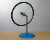 D4-03: BICYCLE WHEEL GYROSCOPE ON PIVOT
