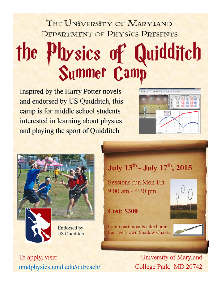 Physics of Quidditch