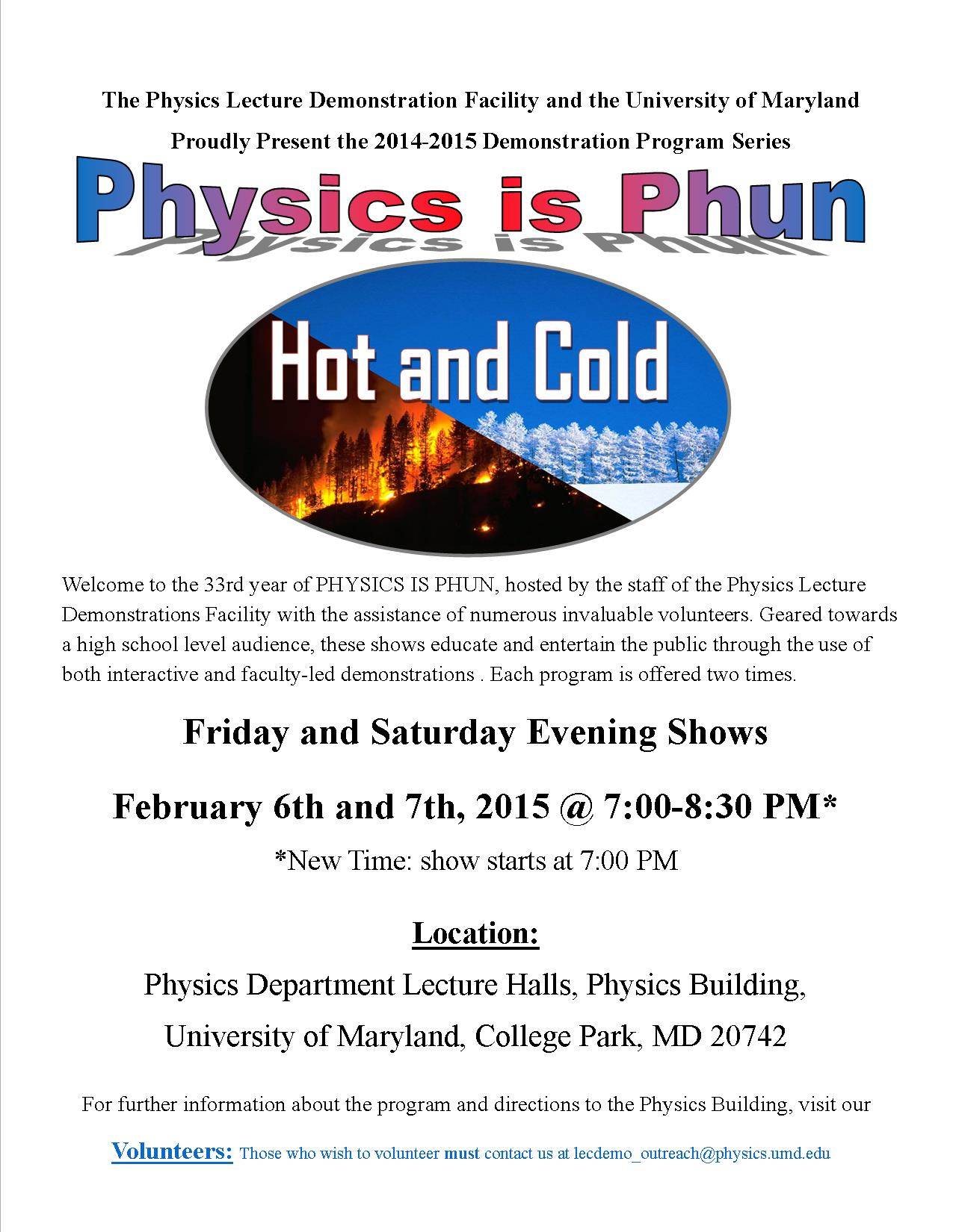 PiP Hot and Cold flyer