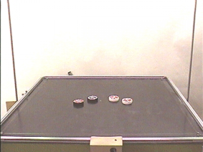 C7-42: AIR TABLE - COLLISIONS OF PUCKS