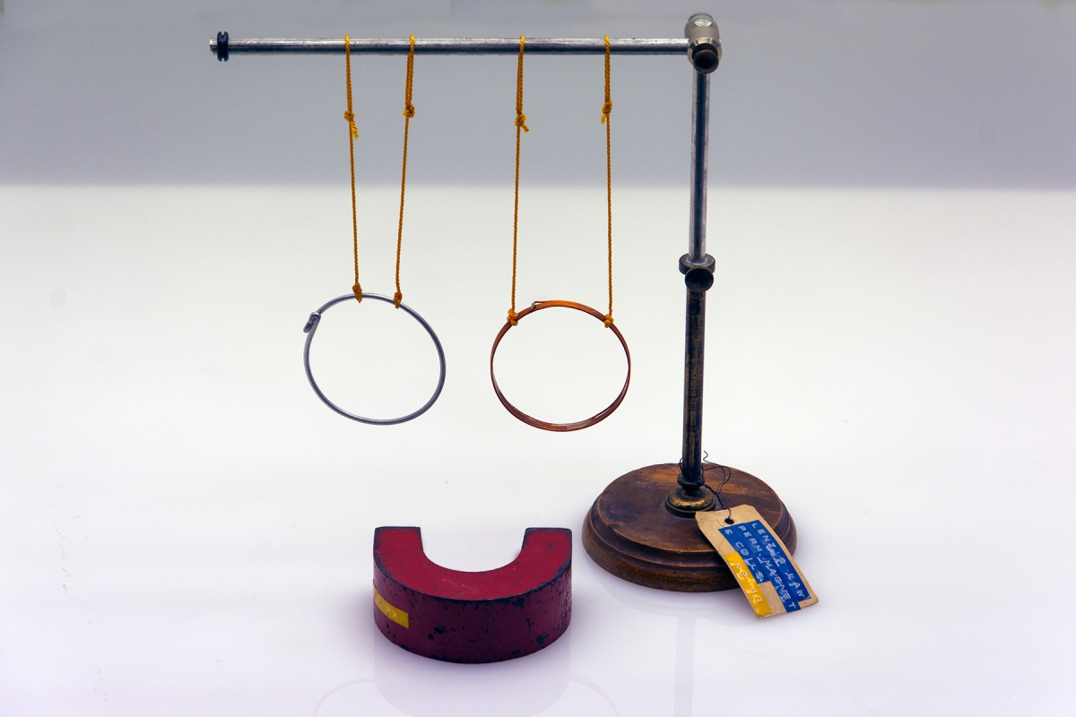 K2-43: LENZ'S LAW - PERMANENT MAGNET AND COILS