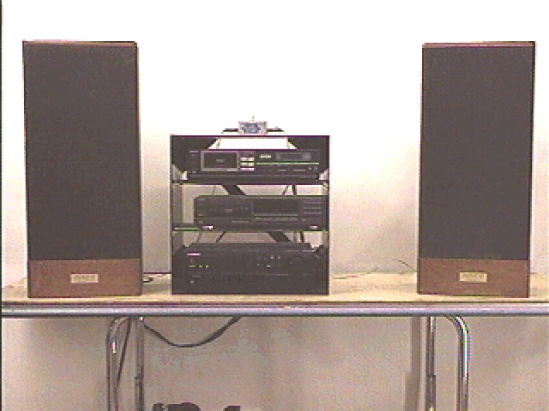 H4-81: AUDIO CART - COMPLETE AUDIO SYSTEM