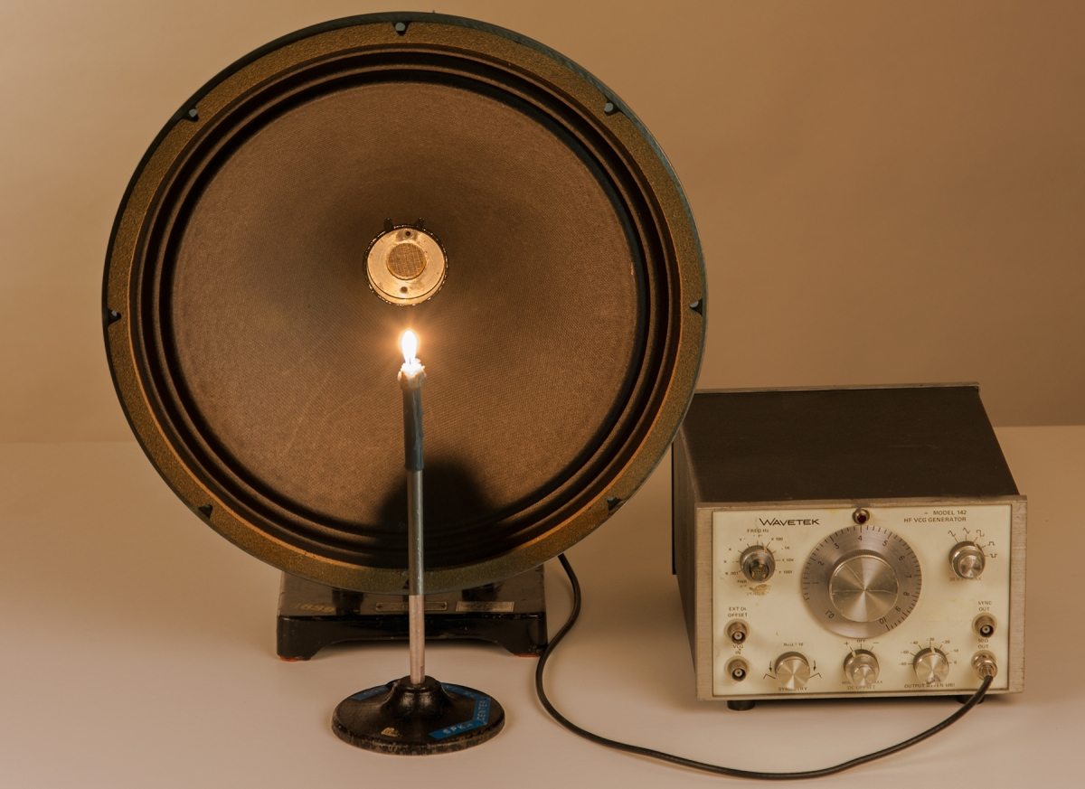 H1-02 SPEAKER AND CANDLE