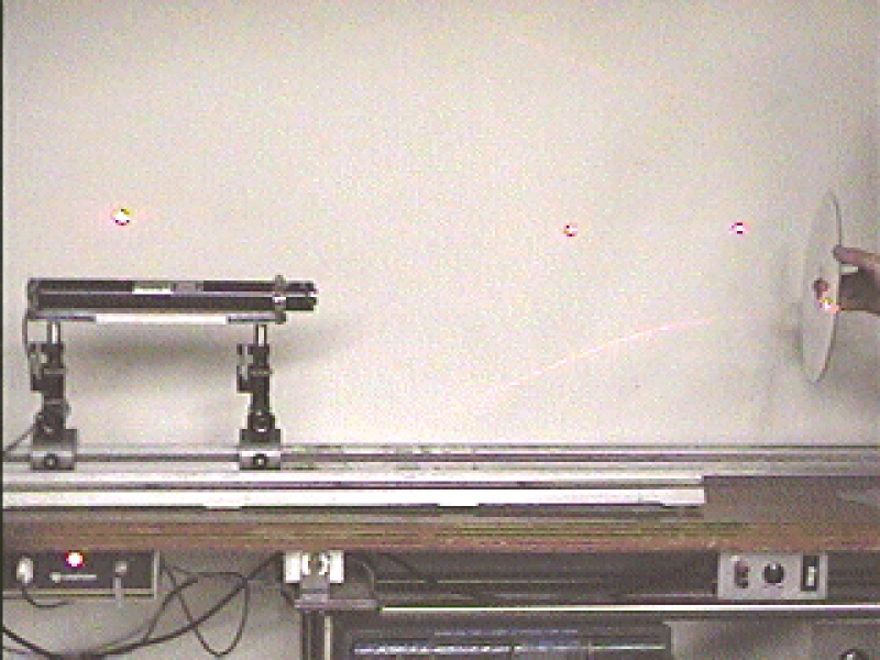 M1-35: LASER DIFFRACTION - VIDEODISC