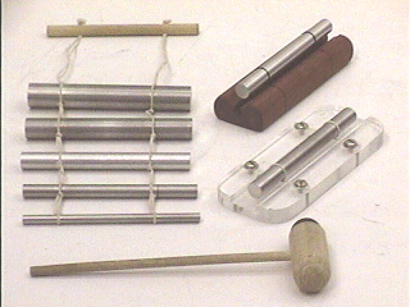 H3-73: TUNING RODS - SUSPENDED