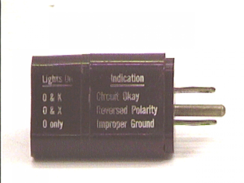 K5-21: AC PLUG CIRCUIT CHECKER