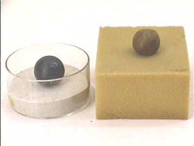 C7-26: BOUNCING PUTTY AND NON-BOUNCING SUPERBALL