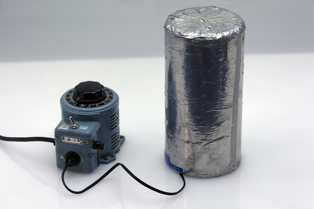 L2-24: PARTIALLY SILVERED CYLINDER